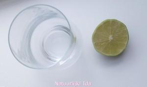 Koolzuurhoudend water met limoensap