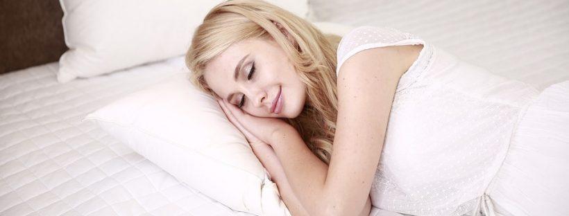 afvallen door te slapen