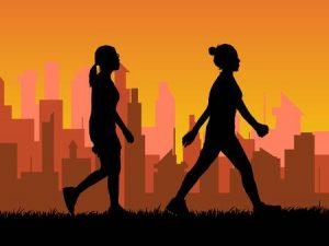 Brisk walking wandelen met power