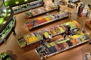 supermarkt rondleiding gezonde voeding