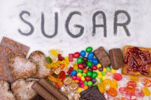 suikerrijke voeding