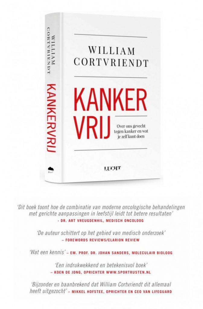 kankervrij william cortvriendt nieuwe boek